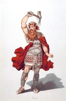Thor (Scandinavian), Thunor (to the Saxons), Donar (Continental Germans), was a folk god that protected the people from the personified elements (giants). The Romans identified him with their own Jupiter (Greek: Zeus), and he shared many features with other Indo-European gods such as slavic Perun, indicating a very old origin for this god. Old Warrior, Vikings, Asatru, Germanic Tribes, Mythical Creatures, Ancient Celts, Mythology, Viking History, Norse Mythology