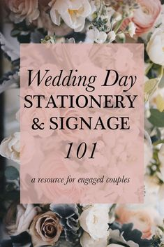 You picked your save the dates, you budgeted for invitations & postage, and everything's in the mail--yay! But then you realize that you forgot to plan for the day-of stationery items that you may need. Have no fear! In this blog, I'll be sharing my best advice for stress-free planning for
