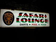 Safari Lounge Sign