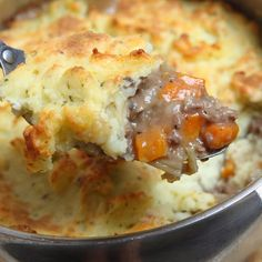 This shepherds pie topping is a bit of a surprise as it is made with cauliflower instead of potato. This is a very tasty alternative to using potatoes. Give it a try! . Shepherds Pie Recipe from Grandmothers Kitchen.