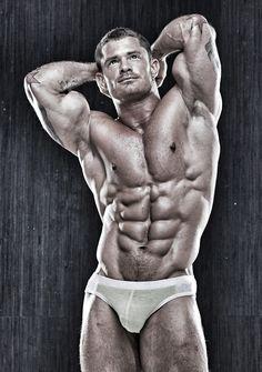 sweatygymcox:  drwannabe:  Jeffrey Shiflet  He's physique is phenomenal Gotta admire & desire his musculature