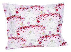 Rakkausmuumi tyynyliina 1 kpl kaikki muutkin tyynynliinat, mutta EI merimuumeja, lyhtymuumia.