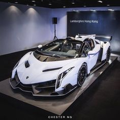 Visit The MACHINE Shop Café... ❤ The Best of Lamborghini... ❤ (Lamborghini Veneno Roadster)