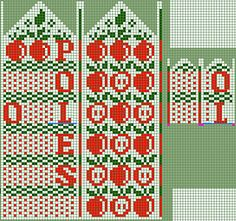 Ravelry: kulabra's Projects Knitted Mittens Pattern, Fair Isle Knitting Patterns, Knit Mittens, Knitting Charts, Hand Knitting, Crochet Patterns, Stitch 2, Cross Stitch, Projects