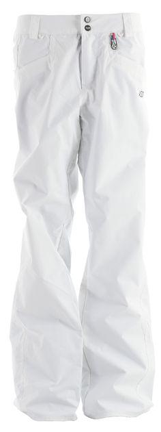Giant fan of white snowpants (:
