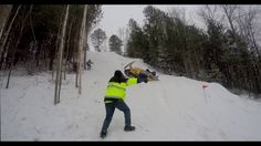 2016 Snowmobile Hill Climb (Part Two) - Watch in 4k HD