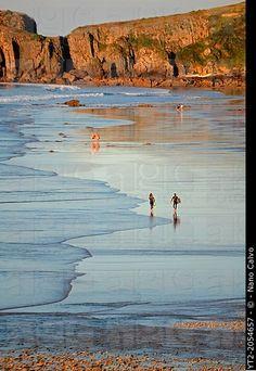 San Antolin beach in Llanes, Asturias. Spain
