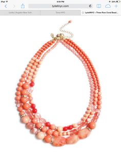 Coral jewelry. Lydell NYC
