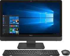 "Dell - Inspiron 23.8"" Touch-Screen All-In-One - Intel Core i7 - 12GB Memory - 1TB Hard Drive - Silver/Black"
