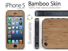 iPhone 5 Real Wood (Bamboo) Skins