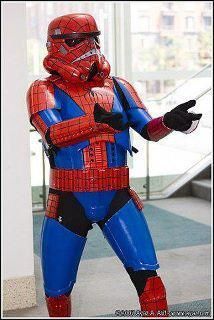 Spider-Trooper, the perfect combinations of two of my favorite things.