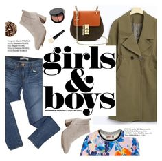 """""""Girls&boys"""" by punnky ❤ liked on Polyvore featuring J Brand, MSGM, Haute Hippie and Bobbi Brown Cosmetics"""