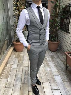 Amazing street mens fashion 6250 streetmensfashion is part of Vest outfits men - Designer Suits For Men, Designer Clothes For Men, Indian Men Fashion, Mens Fashion Suits, Mens Suit Vest, Mens Suits, Waistcoat Men, Dress Suits For Men, Men Dress