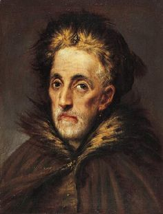 Portrait of an Old Man with Fur, c. 1590-1600 Domenikos Theotokopoulos called El Greco (Manusso Greco?) Spanish, born in Greece, 1541-1614