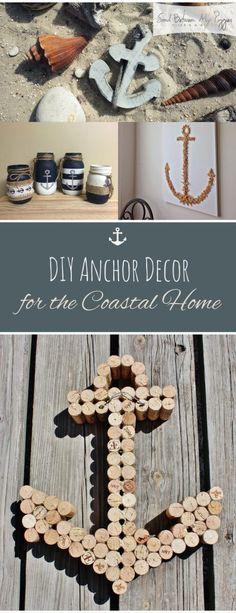 DIY Anchor Decor for the Coastal Home