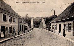 Neue Allebrücke, Schippenbeil, O.-Pr. 1923. Verlag Karl Woytag, Schippenbeil https://www.facebook.com/lostprussia/photos/a.613752995365609.1073741883.517377898336453/871191096288463/?type=1