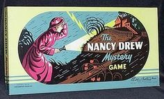 1957 Nancy Drew board game. I'm still looking for this!