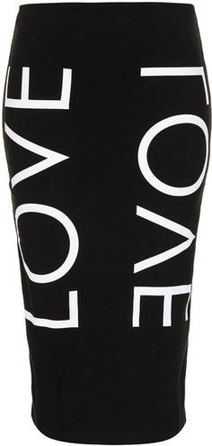 Fashion Targets Love Tube Skirt - TOPSHOP $45