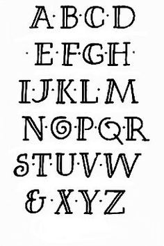 ~ Alphabet Lettering Calligraphy ~ by Chris Foster Hand Lettering Alphabet, Alphabet Design, Doodle Lettering, Creative Lettering, Lettering Styles, Calligraphy Letters, Typography Letters, Easy Calligraphy Fonts, Alphabet Fonts