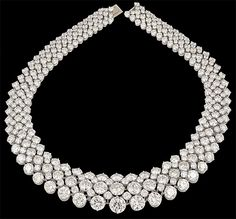 HARRY WINSTON DIAMOND NECKLACE♥