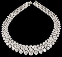 HARRY WINSTON DIAMOND NECKLACE♥