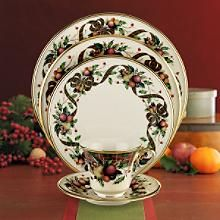 Lenox Holiday Tartan  Have this and it is pretty