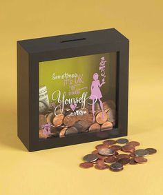Take a look at this 'Sometimes' Bank on zulily today!