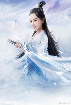 Chinese Culture, Chinese Art, Katana Girl, Traditional Stories, Ancient Beauty, China Girl, Cute Asian Girls, Magical Girl, Anime Chibi