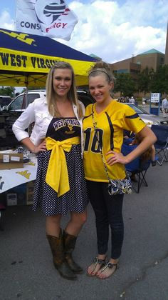 Look at this WVU Dress! Too cute.