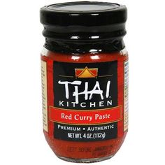 Thai Kitchen Red Curry Paste, 4 oz (Pack of 12)