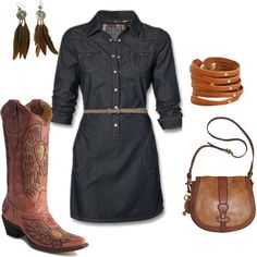 lil bit country... can a filipina girl like me pull this off?? i LOVE country boots!!!