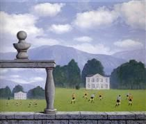 René Magritte - Representation, 1962