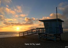 September 11, 2016 Marina Del Rey Sunset...  Day 726