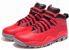 "97c2840bff846d Buy 2015 Air Jordan 10 Retro ""Bulls Over Broadway"" Gym Red Black-Wolf Grey  from Reliable 2015 Air Jordan 10 Retro ""Bulls Over Broadway"" Gym Red Black-Wolf  ..."