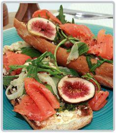 Salmon avocado, Smoked salmon and Feta on Pinterest