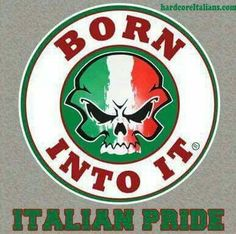 Proud to be Italian...