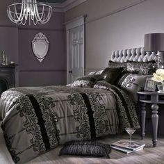 Housses de couette ensembles de literie de luxe pour un for Literie chambre a coucher adulte
