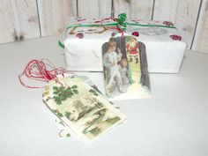 Christmas Gift Tags  9 Old Fashioned by ButterflyInTheAttic, $4.95