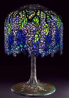 How to Make a Stained Glass Lamp by Dale Tiffany.. http://www.youtube.com/watch?v=CT9RLi9nqIA