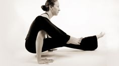 Sam Rice (amazing yoga teacher) has a pose of the month.
