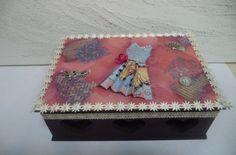 Caixa de Bijutaria 23x16cm - Vadita Decor, produtos de decoração