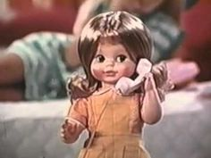 1972 Mattel Hi Dottie talking doll TV commercial - YouTube
