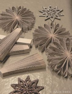 paper ornaments by reed design, via Flickr