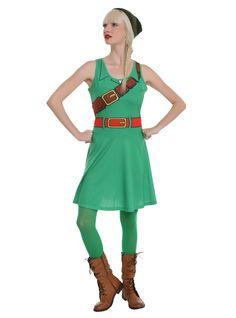 Nintendo The Legend Of Zelda Link Costume Dress | Hot Topic