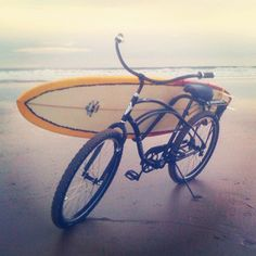 Bike or board. Why not both?! #Fitness in #Montauk
