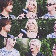 Ross Lynch and Rydel R5 Band, Bae, Riker Lynch, Laura Marano, Austin And Ally, Favim, Cool Bands, Fangirl, Celebs