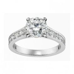 Cartier Replica - mine is like this except it has 8 prongs :) I love my husband!