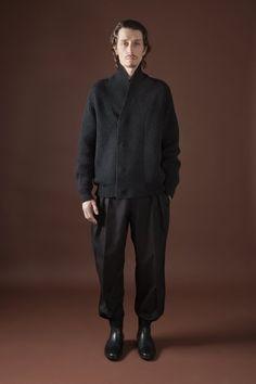 Rogier Bosschaart Stephane Olivier for Christophe Lemaire Fall/Winter 2012