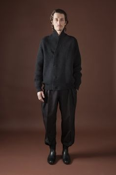 Rogier Bosschaart Stephane Olivier for Christophe Lemaire Fall/Winter 2012