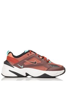 best loved 016d5 5eb75 Nouvelle Collection Automne-hiver 2018 NIKE M2K TEKNO EN CUIR MAHOGANY  MINK BLACK-